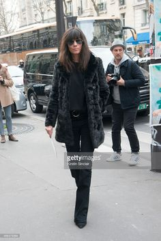 Editor in Chief of French Vogue Emmanuelle Alt on day 7 of Paris Collections: Women on March 09, 2015 in Paris, France.