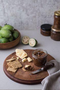 Feijoa & Ginger Chutney | HOMEGROWN KITCHEN Fejoa Recipes, Sweet Recipes, Real Food Recipes, Snack Recipes, Cooking Recipes, Yummy Food, Delicious Recipes, Guava Recipes, Recipies