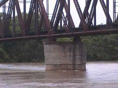Red river flood 2015 Arthur City Texas part 1 - YouTube