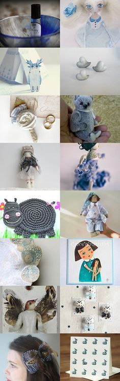 ~♥ Blue Whimsy ♥~ by Scarlett on Etsy--Pinned with TreasuryPin.com