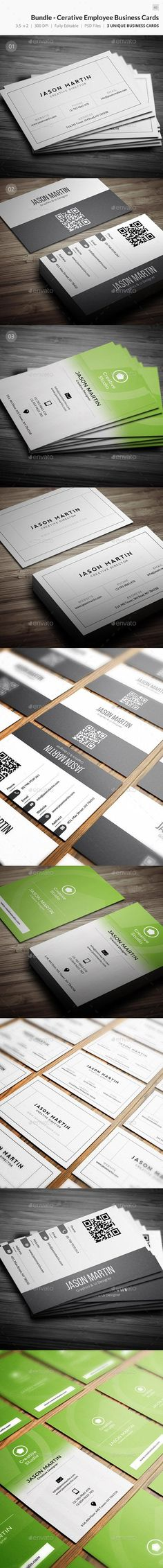 Buy Bundle - Cerative Employee Business Cards - 60 by bouncy on GraphicRiver. Creative Business Cards Bundle – Flat Business Cards for Any Individual/Companies. Here you can find each item Indivi. Fashion Business Cards, Professional Business Card Design, Unique Business Cards, Creative Business, Background Templates, Card Templates, Flyer Template, Business Card Design Inspiration, Card Designs
