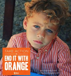 End it with Orange: Orange Meals Inspired by No Kid Hungry