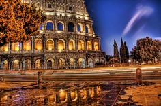 The Colosseum at night... - photo from #treyratcliff at http://www.StuckInCustoms.com - all images Creative Commons Noncommercial