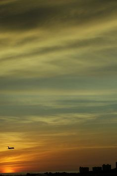 Sunset at Maiquetia, Venezuela by waltërcin, via Flickr