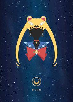 Vector Sailor Moon on Behance