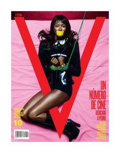 V Magazine Spain, Fall 2011. Naomi Campbell photographed by Sebastian Faena.
