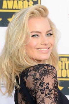 Margot Robbie blonde hair. So pretty!