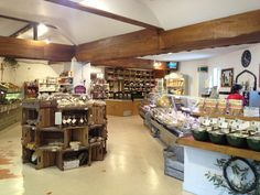 Priory Farm Shop is something of an institution for local residents, who shop for everything from locally-reared meat and game, to cheese, eggs, honey, fruit and veg and a whole host of other tempting treats.