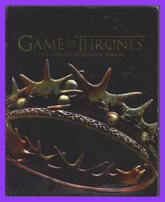 Game of Thrones Complete Season 2 Blu Ray + DVD Big Set