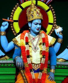 Halloween Kostüm mythen krishna indien der blaue gott