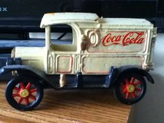*COCA-COLA ~ Vintage Cola Cast Iron Truck, c.unshure of age, weighs over 5 lbs.