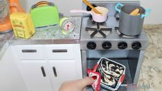 American Girl Doll Oven DIY We have another foam board craft! Since we did the American Girl Gourmet Kitchen and Maryellen's kitchen counter, we wanted to craft something that went along with both. So, this DIY doll oven is the perfect size to craft and put next to either of those counters! Just cut out …