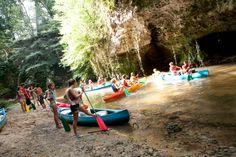 #Canoë Loisir à Roquefort, Landes Évoluez au fil de l'eau à travers les falaises calcaires! #Loisir