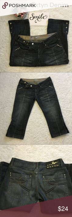 EXTYN DENIM Jeans In excellent condition very comfy. Pockets in front and back Measurements above Extyn Denim Jeans