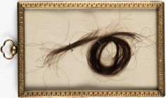 Treasures at the Pratt: Locks of Edgar Allan Poe's hair