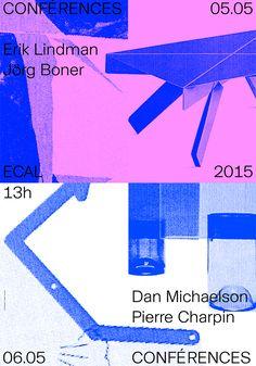 Work / Graphic Design Crisp and vibrant design work from ECAL graduate Clement Rouzaud