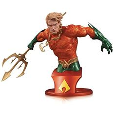 DC Collectibles Comics Super Heroes: Aquaman Bust -- Want to know more, click on the image. (This is an affiliate link) #ActionFiguresStatues