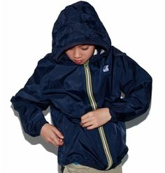 K-Way Kids, shop at k-way.ca #kway #kids Smaller Hips, Back To School, School Stuff, Hip Bag, Rainy Days, Rain Jacket, Windbreaker, Raincoat, Kids Shop