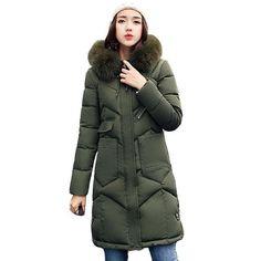 Manteau femme mi long avec capuche