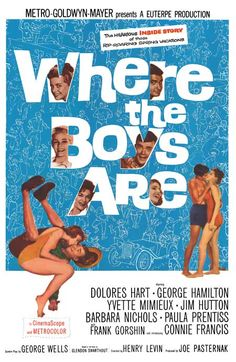 WHERE THE BOYS ARE  - One of my must see movies every spring (Don't ask me why - I just love it)