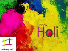 See My Art wishes everyone a safe and happy holi :)
