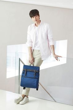 Park Hae Jin packs in smart style for Beanpole Accessory