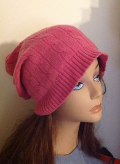 A personal favorite from my Etsy shop https://www.etsy.com/listing/265722936/girl-dusty-rose-pink-cashmere-hat-knit