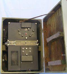 VE3FAB - British Lancaster Electronics Ffit Gun Turret, Lancaster Bomber, Control Unit, Aircraft, British, War, Electronics, History, American