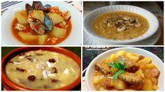 4 platos de cuchara