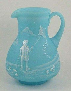 Fenton Mary Gregory pitcher