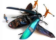 Des insectes mécaniques