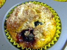 Low Sodium Blueberry Muffins