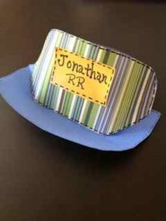 1000 images about gf ideas on pinterest kangaroo craft for Conductor hat template