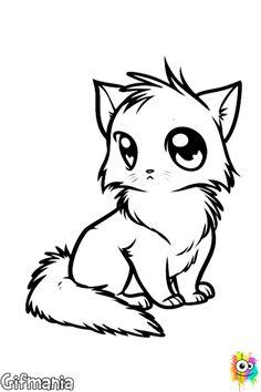 manga cat #cat #animal #manga #drawing