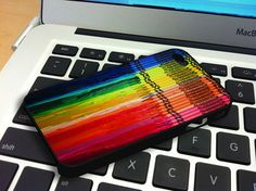 Melting Crayola Crayons iPhone 4 iPhone 4S Case by snowspace, $15.79