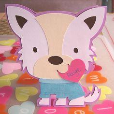 Cricut Valentine Card, Create a Critter.