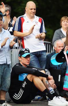 Dave Brailsford Photo - The National Elite Road Race Championships Bradley Wiggins