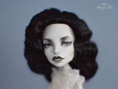 Екатерина Havres — OOAK Monster High Spectra by Madam Bu Black and...