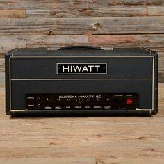 Hiwatt Custom 50 Head 1970s