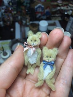 Hey, I found this really awesome Etsy listing at https://www.etsy.com/jp/listing/200493656/teddy-bear-miniature-set-custom-order