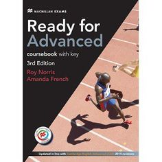 Ready for advanced sts +key pack ed (Tapa blanda) Advanced English, Learn English, Cambridge English, Audio, Ielts, Pdf, Teaching, Books, Fairy Tail
