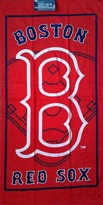 MLB Boston Red Sox Bath/Beach Towel 30x60