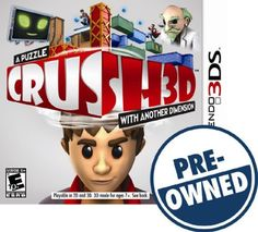 Crush 3D — PRE-Owned - Nintendo 3DS, PRE-OWNED GAME