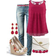 Jeans and Cranberry CLICK THE PIC and Learn how you can EARN MONEY while still having fun on Pinterest