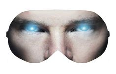 Doctor Dr Strange Marvel Face Sleep Sleeping Napping Eye Mask Masks Blindfold Blindfolds Travel Kit Cover Slumber Slumbers Eyewear Eyewears by venderstore on Etsy
