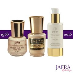 The JAFRA story began with the legendary Royal Jelly, which remains JAFRA's signature product to this day! http://jafra.me/r32