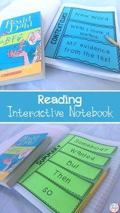 These flaps are perfect for your reading interactive notebooks or journals! They can be used with any text and include flaps for fiction and non fiction! Great took for guided reading!