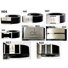 ab1c6b35061bd Cinto Couro Masculino Calvin Klein Ck Social Aço Escovado - R  38,99 em Mercado  Livre