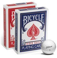 9-hole golf card game