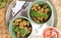 Sweet Potato Gnocchi With Pesto [Vegan] | One Green Planet